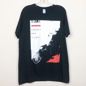Twenty One Pilots T- Shirt Black L